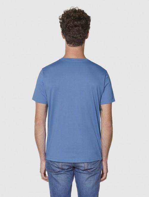Men's Bright Blue T-Shirt