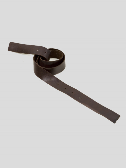 Neck Strap Brown Leather