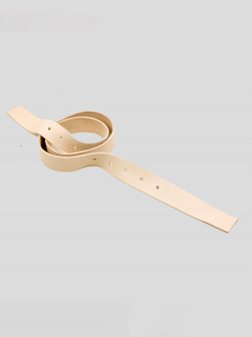 Neck strap natural leather