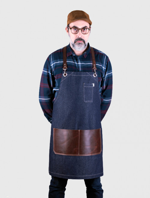 Moonshine Denim Apron