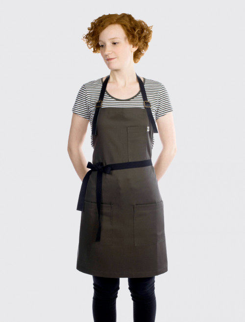 Ginger Army Apron