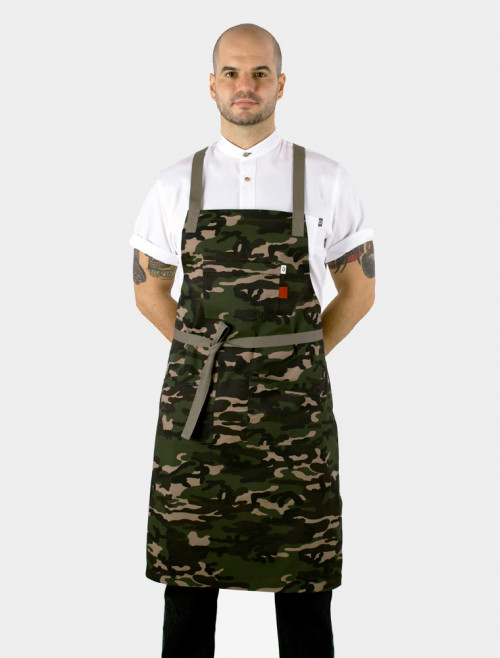 Cross Camo Apron