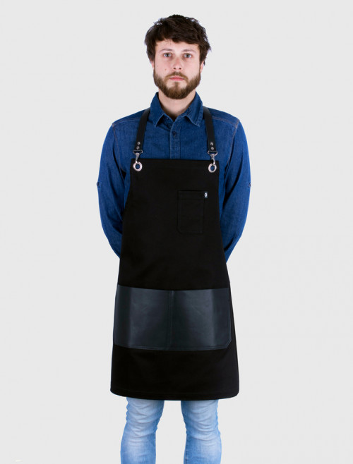 Moonshine Black Apron
