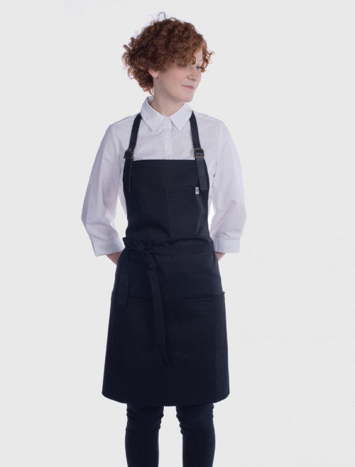 Ginger Black Apron