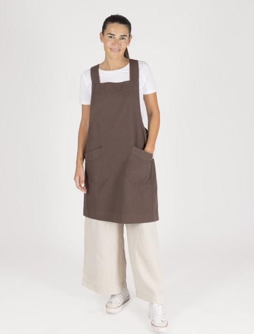 Brown Nippon Apron