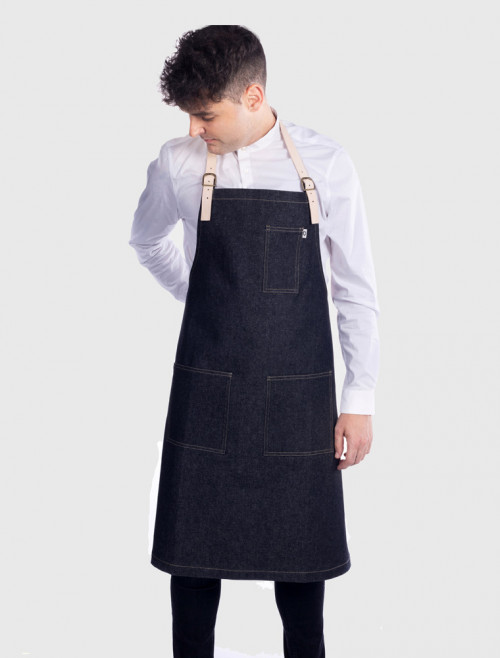 Detroit Black Apron