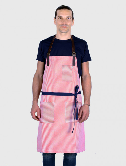 Stripes Red Apron