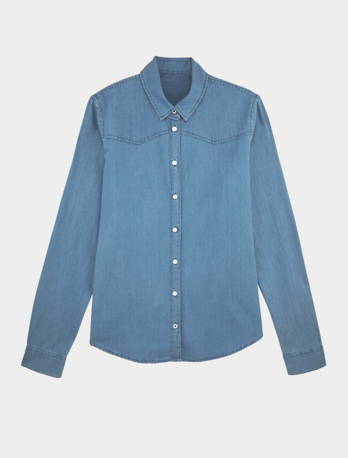 Women's Light Denim Shirt