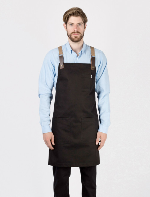 New Black Garbo Apron