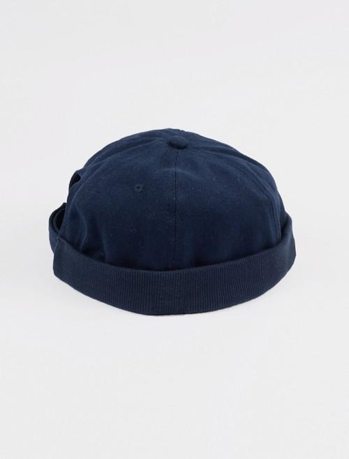 Navy Skull Cap