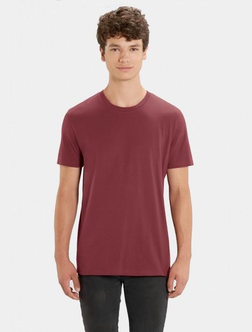 Camiseta Granate Hombre