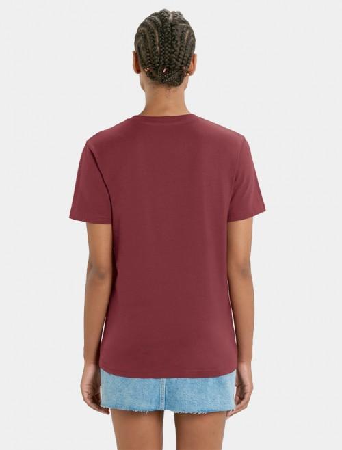 Camiseta Granate Mujer