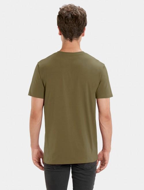Camiseta Kaki Hombre