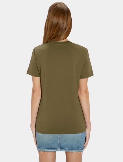 Women's Khaki T-Shirt