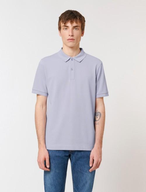 Unisex Lavender MC Polo