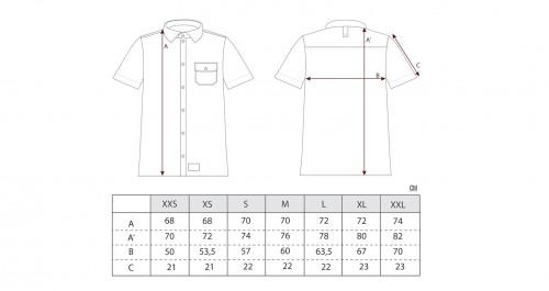 Sizing Camisa Bravo Tile