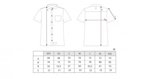 Sizing Zan Jaqard Workshirt