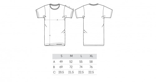Sizing Camiseta Logo Orange