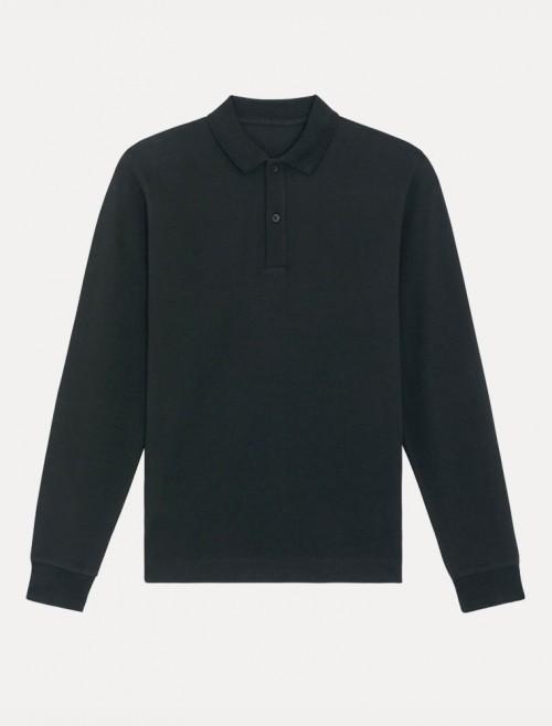 Unisex Black ML Polo
