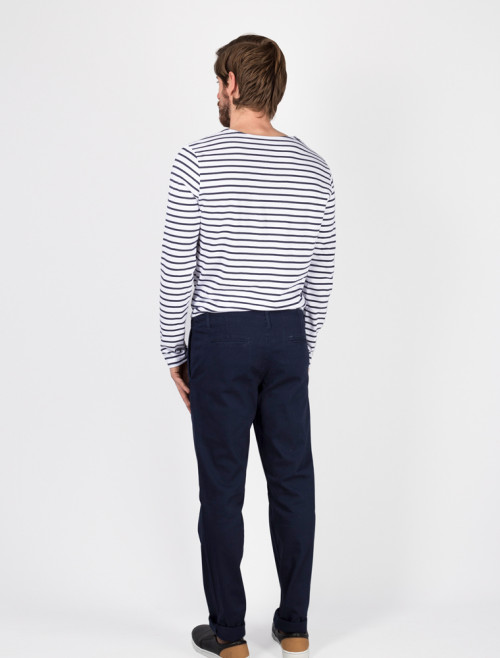 Men's Blue Chino Trousers