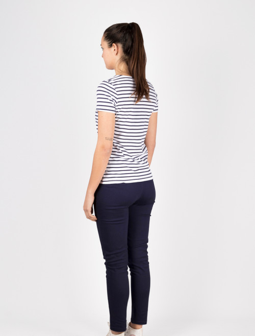 Women's Blue Chino Trousers