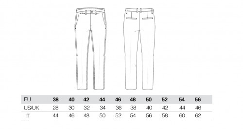 Sizing Men's Sand Chino Trousers