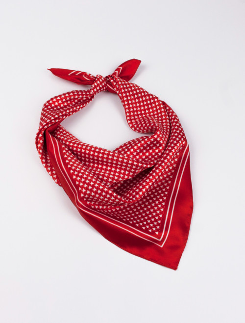 Red French Handkerchief