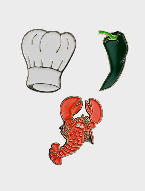 Pack of 3 Chef Pins