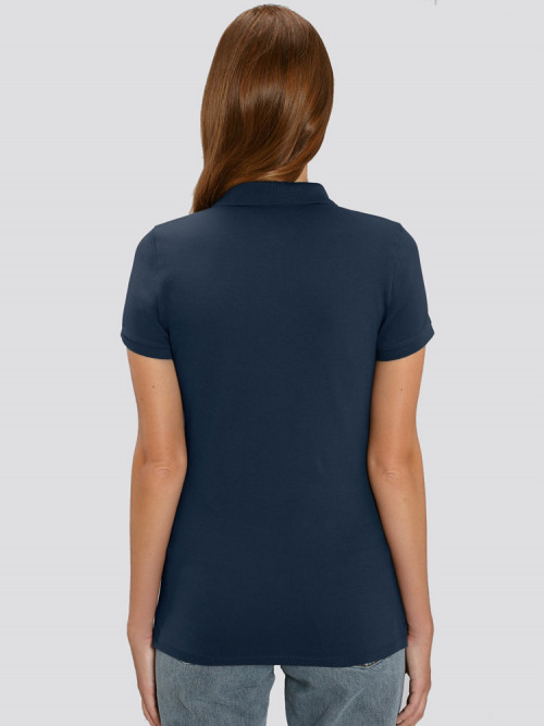 Women's Blue Polo