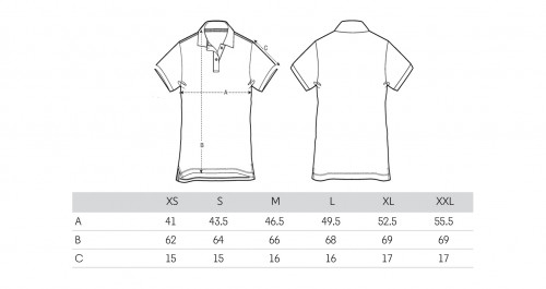 Sizing Polo Gris Mujer