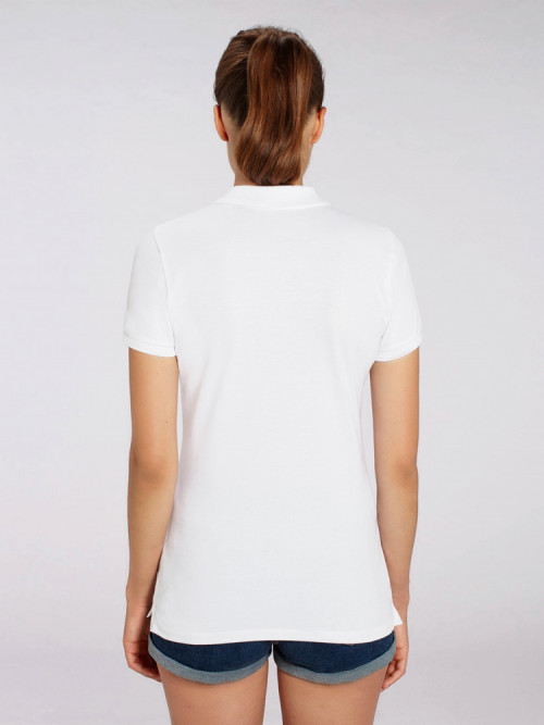 Women's White Polo