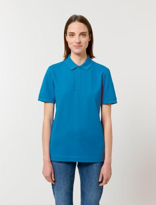 Unisex Royal Blue MC Polo
