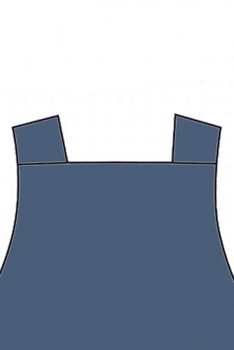 Delantal Nipón Azul